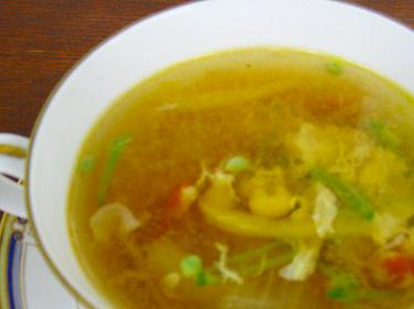 中華風辛味スープ
